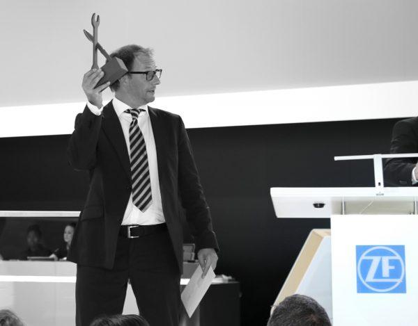Preisverleihung des Journalistenpreises Wort&Werkstatt 2015 in Frankfurt am Main. Bild: Dialogmanufaktur