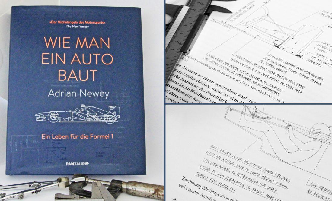 Adrian Newey, Wie man ein Auto baut, ein Leben für die Formel 1